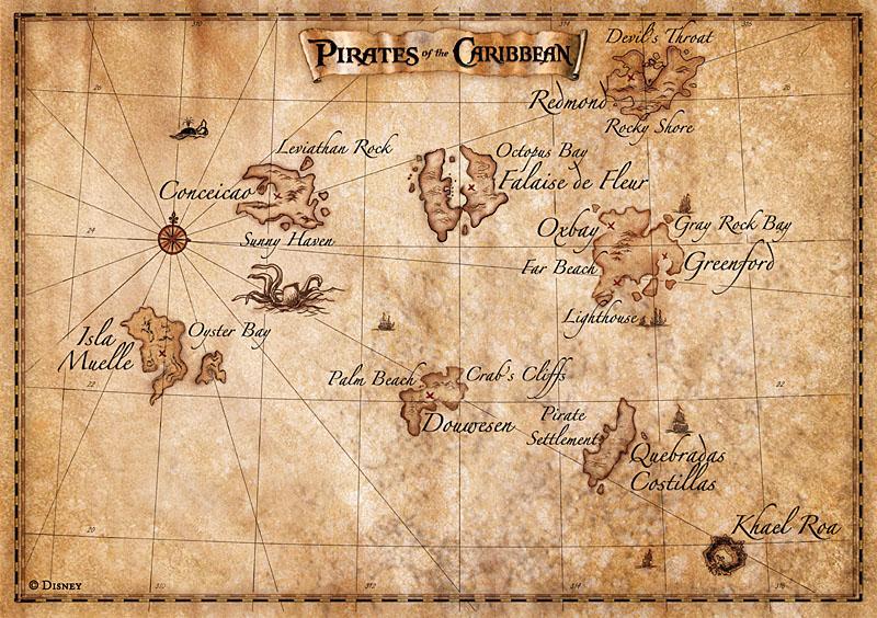 Как сделать старинную карту